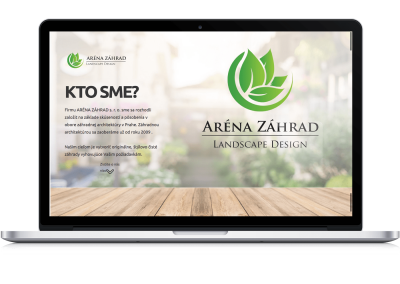 Presentation Responsive web for the garden architect